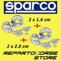 DISTANZIALI SPARCO 16 + 20mm per FIAT 500 L TREKKING