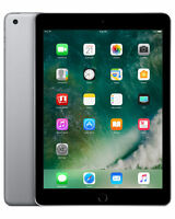 "Apple iPad 5th Gen 32GB, Retina Wi-Fi (Unlocked) 9.7"" Space Gray A+ Grade Warnty"