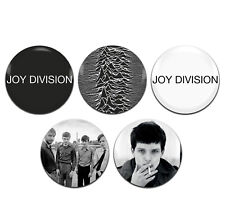 5x Joy Division Band Punk Indie 25mm / 1 Inch D Pin Button Badges