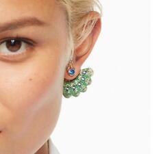NWT Kate Spade Full Plume Peacock Earrings O0RU2452