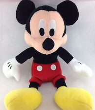 """Disney Mickey Mouse Plush 10"""" 25cm Stuffed Animal Toy Store Tag Black Overalls"""
