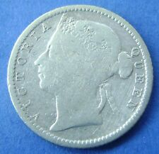 Straits Settlements   10 cents ten cents 1889 Queen Victoria KM #11