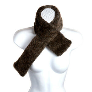Ladies Faux Fur Collar Scarf Neck Winter Mink Pia Rossini Tatiana