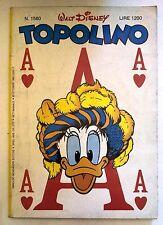 Topolino n.1560 * 20 ottobre 1985 * Walt Disney - Mondadori