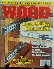 Wood May 2016 Drawer Slides Demystified Best Cordless Circ Saws FREE SHIPPING sb