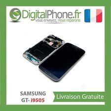 VITRE TACTILE + ECRAN LCD SUR CHASSIS SAMSUNG GALAXY S4 i9505 LTE NOIR 4G+OUTILS