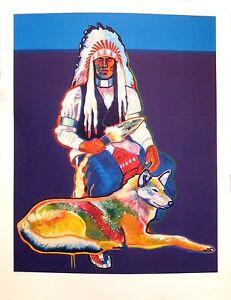 "John Nieto ""Peace and Loyalty"" Serigraph"