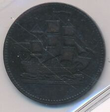CANADA TOKEN SHIPS COLONIES & COMMERCE BRETON 997  PEI PE10-27 - ICCS  VF-30