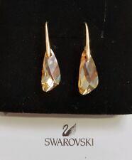 Gota de cristal pendientes de Swarovski GOLDEN SHADOW Original Swarovski Element