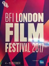 BFI LONDON FILM FESTIVAL 2017 112-PAGE COLOUR PROGRAMME MINT