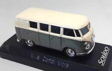 VW Volkswagen Combi Vitre SOLIDO 1/43 DIECAST COCHE