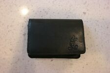 Disneyland Mickey Mouse Imprinted Small Leather Wallet