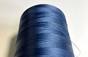 16oz Spool Navy Blue T70 Bonded Nylon Sewing Thread 6000 Yards #69 Fabric N92