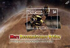 MARS RECONNAISSANCE ORBITER (MRO) Spacecraft Space Stamp Sheet (2006 Grenada)