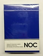 NOC Playing Cards (Blue) NEW Sealed