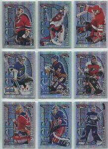 1996-97 Topps Picks Ice D Set (10 cards)