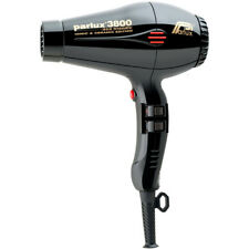 Parlux 3800 Eco Friendly Ionic & Ceramic Black - hair dryer, free ship Worldwide