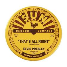 Elvis Presley - That's All Right Mama - Sun Records Round Magnet
