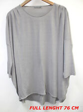 COS GRAY COLOR  LADIES WOMAN TOP BLOUSE LONG SLEEVE MARKED SIZE L H 76 CM