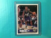 RAY ALLEN 1998-99 UPPER DECK UD CHOICE PREVIEW ODDBALL CARD #79 BUCKS