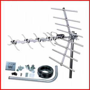 Loft & Outdoor Digital TV Aerial, SLx 27887K4 4G Filtered 32 Element Aerial for