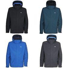 Zip Polyamide Raincoats for Men