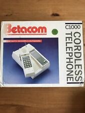Betacom Cordless Telephone C1000 For Use Both Indoors&Outdoors