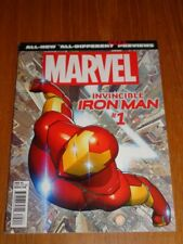 MARVEL PREVIEWS ALL NEW ALL DIFFERENT IRON MAN INVINCIBLE #1 US MAGAZINE =
