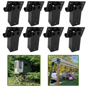 8X Tower Platform Multi-Use Compound Angle Elevator Brackets for Deer Tree Stand