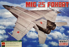 1/144 Scale Minicraft Models 'MIG 25 FOXBAT' Kit #14654