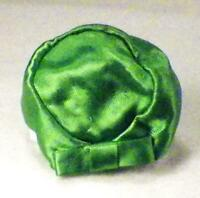 Barbie Green Satin Pillbox Hat Theater Date Mattel #959 Vintage Doll Accessory