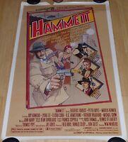 HAMMETT 1982 ORIGINAL ROLLED 1 SHEET MOVIE POSTER PETER BOYLE