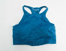 Outdoor Voices Women's Move Free Sleeveless Racerback Crop Top CL8 Gulf Small