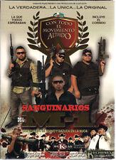SANGUINARIOS DEL M1 CON CUERNO DE CHIVO Y BAZUCA EN LA NUCA  DVD NEW 2011