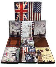 For iPad 4 3 2 Retro Classic Antique Old Book Design Stand Folio Case Cover