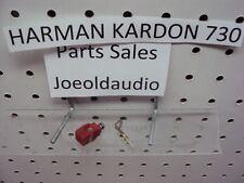 Harman Kardon 730 & 430 Original Red Speaker Post Parting Out 730 Receiver.***