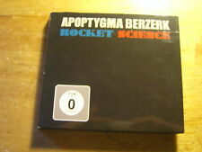 Apoptygma Berzerk - Rocket Science [ CD + DVD ] 2009