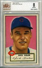 1952 Topps #113 Dick Sisler BVG 8 NM-MT Cincinnati Reds