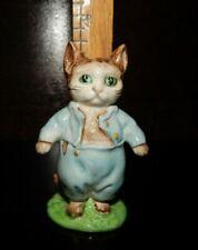 Beatrix Potter Tom Kitten Figurine Vntg 1948 F. Warne Beswick Porcelain Cat Euc