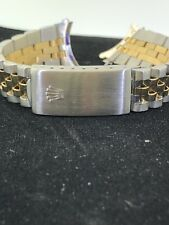 FACTORY ORIGINAL ROLEX MID SIZE TWO TONE WATCH BAND (ONLY) GREAT CONDITION!!!