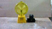 SoloLite LED Baustellenleuchte, Bauleuchte, Warnleuchte, zweiseitig, gelb
