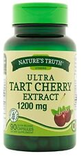 Natures Truth Ultra Tart Cherry Extract 1200mg Capsules 90 Count Each