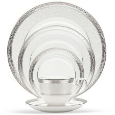 Noritake Odessa Platinum 60Pc China Set, Service for 12