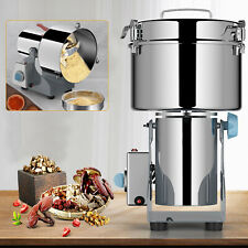 High Speed Electric Stainless Grain Grinder Commercial Mill Spice Herb Cereal