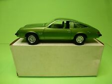 MPC  1:25  PROMO - CHEVROLET MONZA 1976   LIME GREEN  - GOOD CONDITION IN BOX
