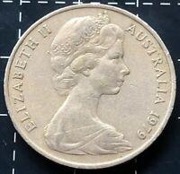 1979 AUSTRALIAN 20 CENT COIN