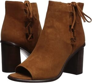 Frye 258673 Womens Amy Side Ghillie Suede Bootie Nutmeg Size 7.5 M