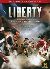 Liberty: Heroes of the American Revolution 2 DISC  DVD BRAND NEW BIN FREE SHIP