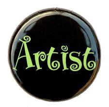 """ARTIST - Fun Novelty Button Pinback Badge 1"""" Art"""