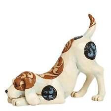 Jim Shore Heartwood Creek Bailey Dog Playing Figurine New 4045270